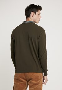 Scotch & Soda - LONGSLEEVE  - Polo - military - 2