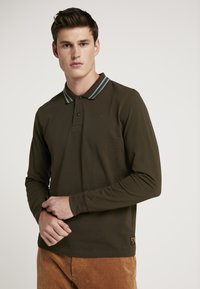 Scotch & Soda - LONGSLEEVE  - Polo - military - 0