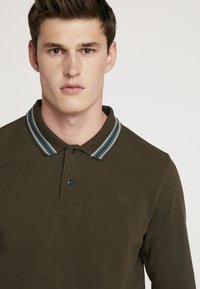 Scotch & Soda - LONGSLEEVE  - Polo - military - 4