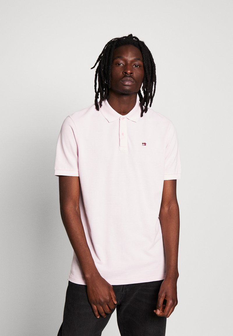 Scotch & Soda - CLASSIC GARMENT DYED  - Polo shirt - faded pink