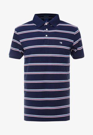 COLOURFUL STRIPED - Poloshirt - dark blue/light blue