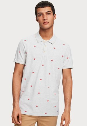 PATTERNED - Polo shirt - red