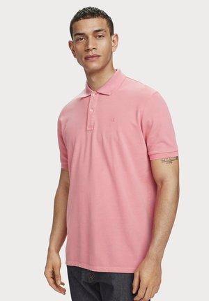 GARMENT DYED - Poloshirt - hibiscus pink