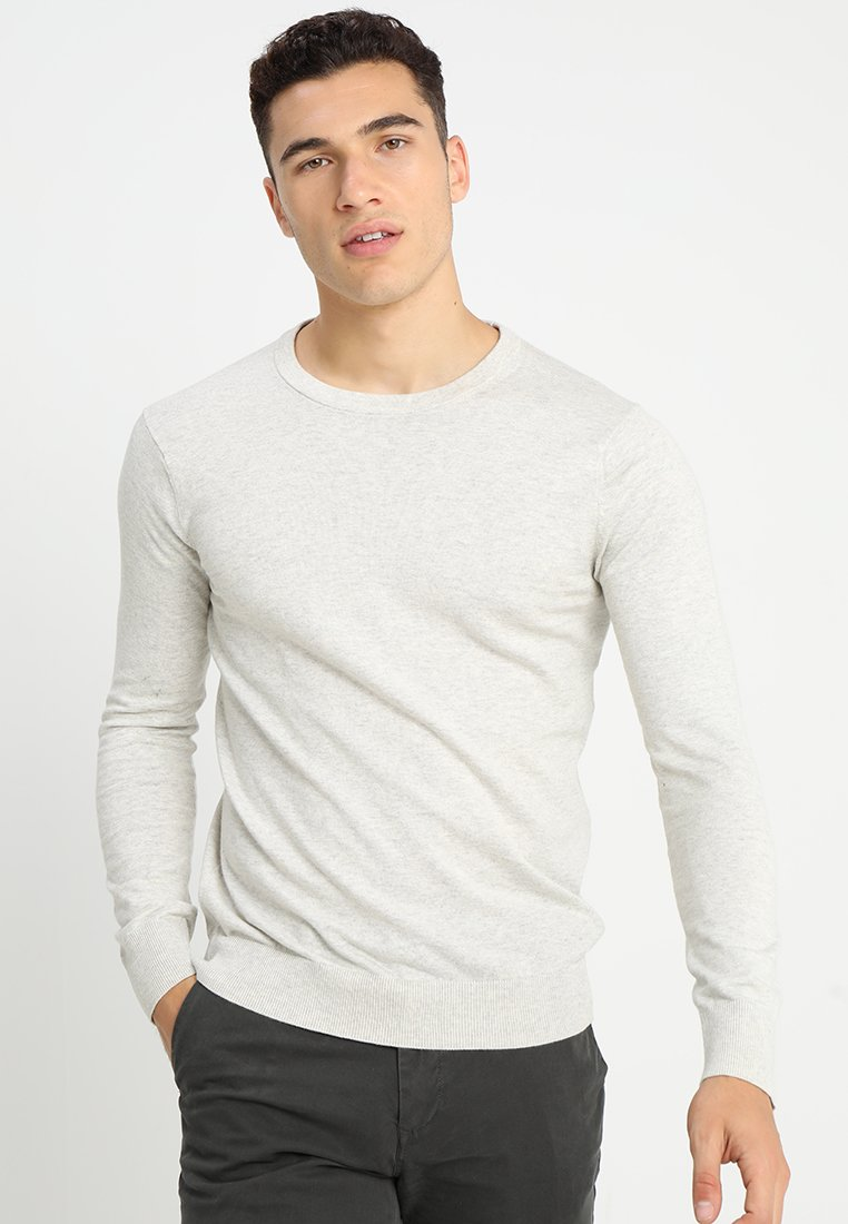 Scotch & Soda - CLASSIC  - Strickpullover - bone melange
