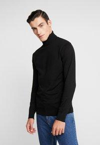 Scotch & Soda - Stickad tröja - black - 0