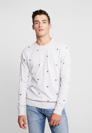 ALLOVER PRINT - Jumper - grey
