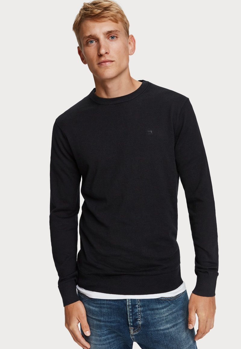 Scotch & Soda - Trui - black