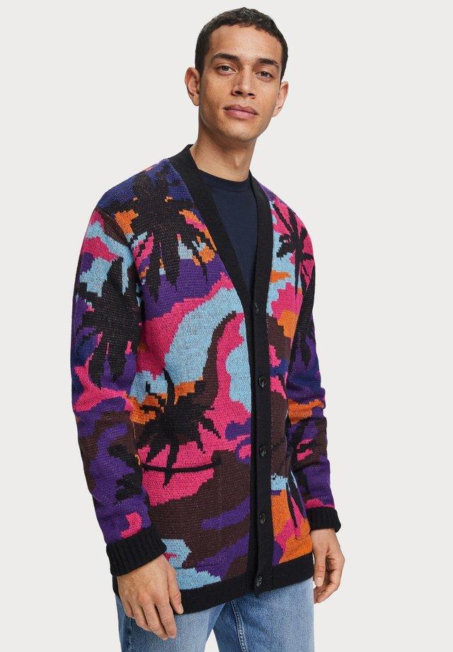 SCENIC JACQUARD  - Vest - purple