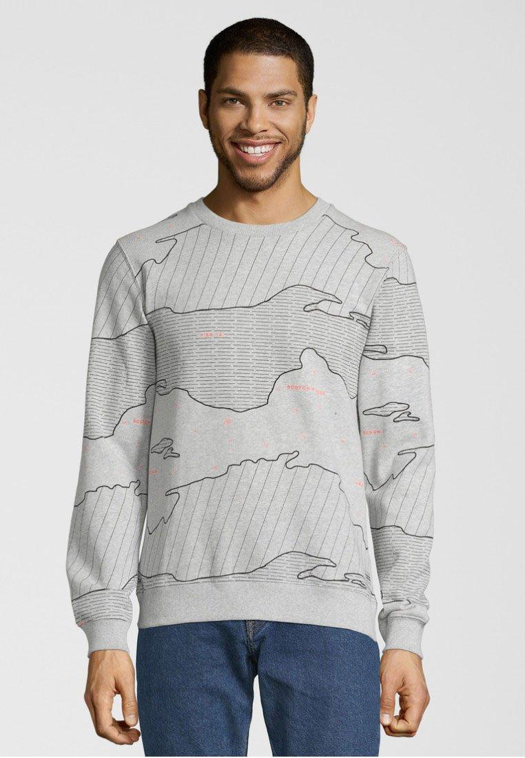 MotivSweatshirt Soda Nautischem Scotchamp; Grey Mit W29IEHD
