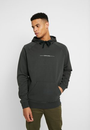 RELAXED HOODIE FELPA - Mikina s kapucí - fern
