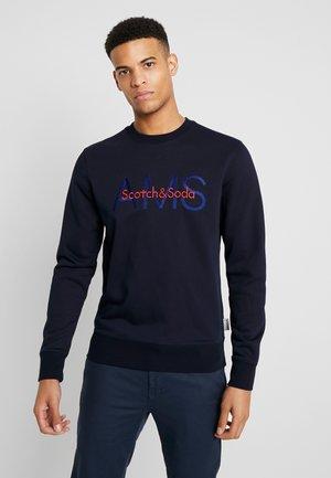 CREWNECK WITH LOGO ARTWORK - Sweater - night