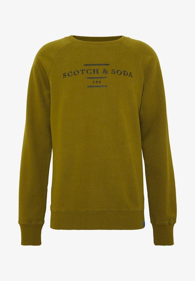 CREW NECK - Sweater - military green