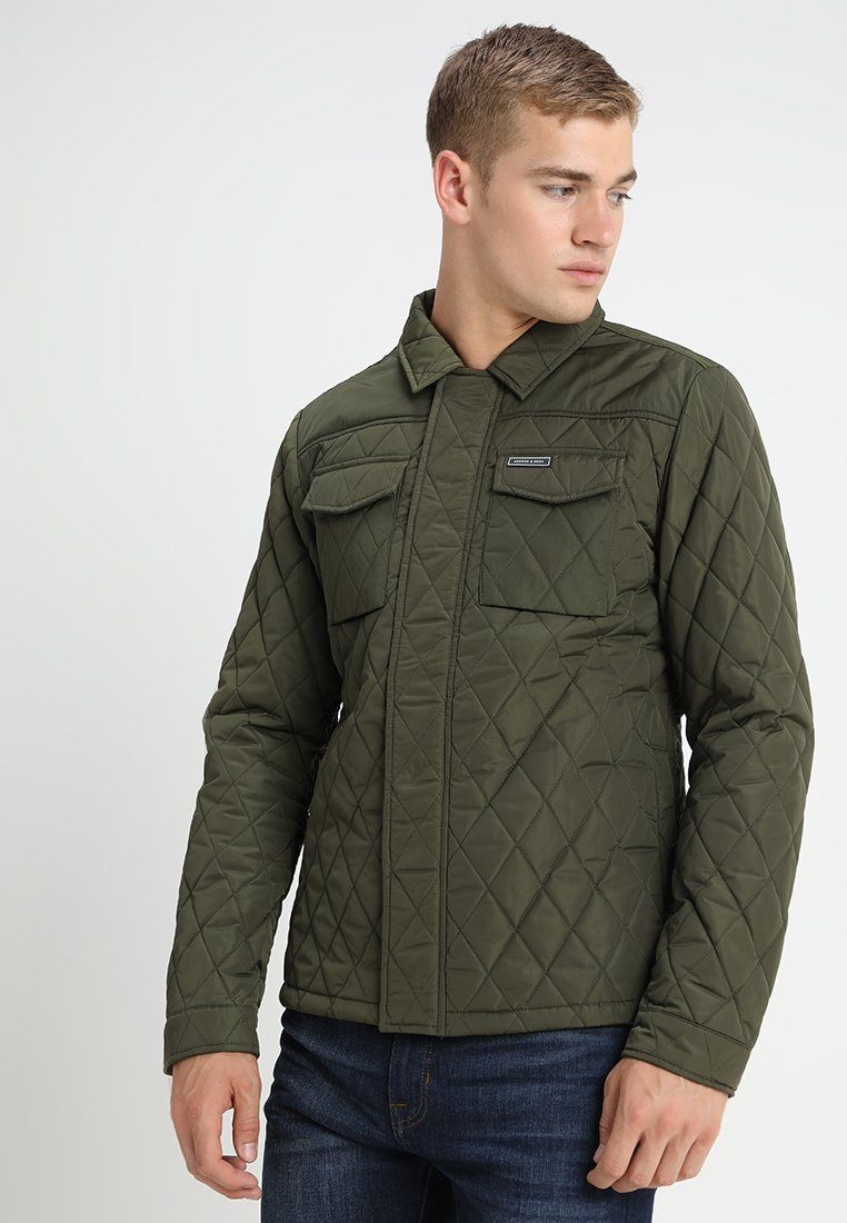 Scotch & Soda - CLASSIC QUILTED - Light jacket - army
