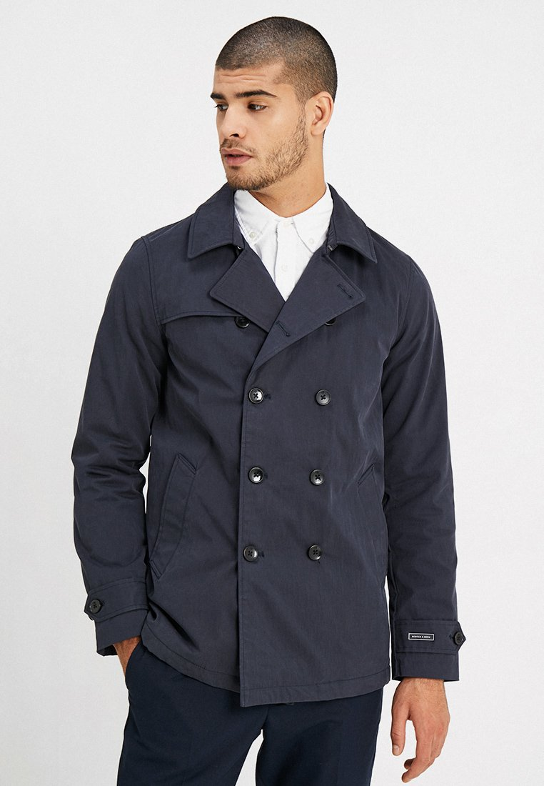 Scotch & Soda - CLASSIC DOUBLE BREASTED - Trenchcoats - night
