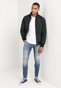 Scotch & Soda - CLASSIC SHORT JACKET QUALITY - Bomber bunda - amalfi green - 1