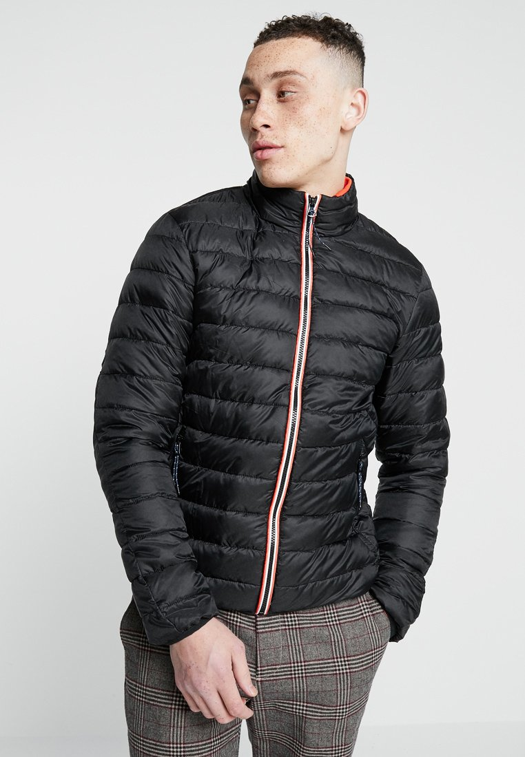 Scotch & Soda - PRIMALOFT SHORT QUILTED JACKET - Light jacket - black