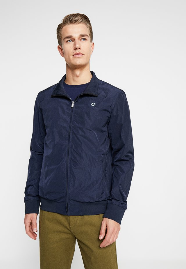 AMS BLAUW HARRINGTON JACKET - Bomberjacks - navy