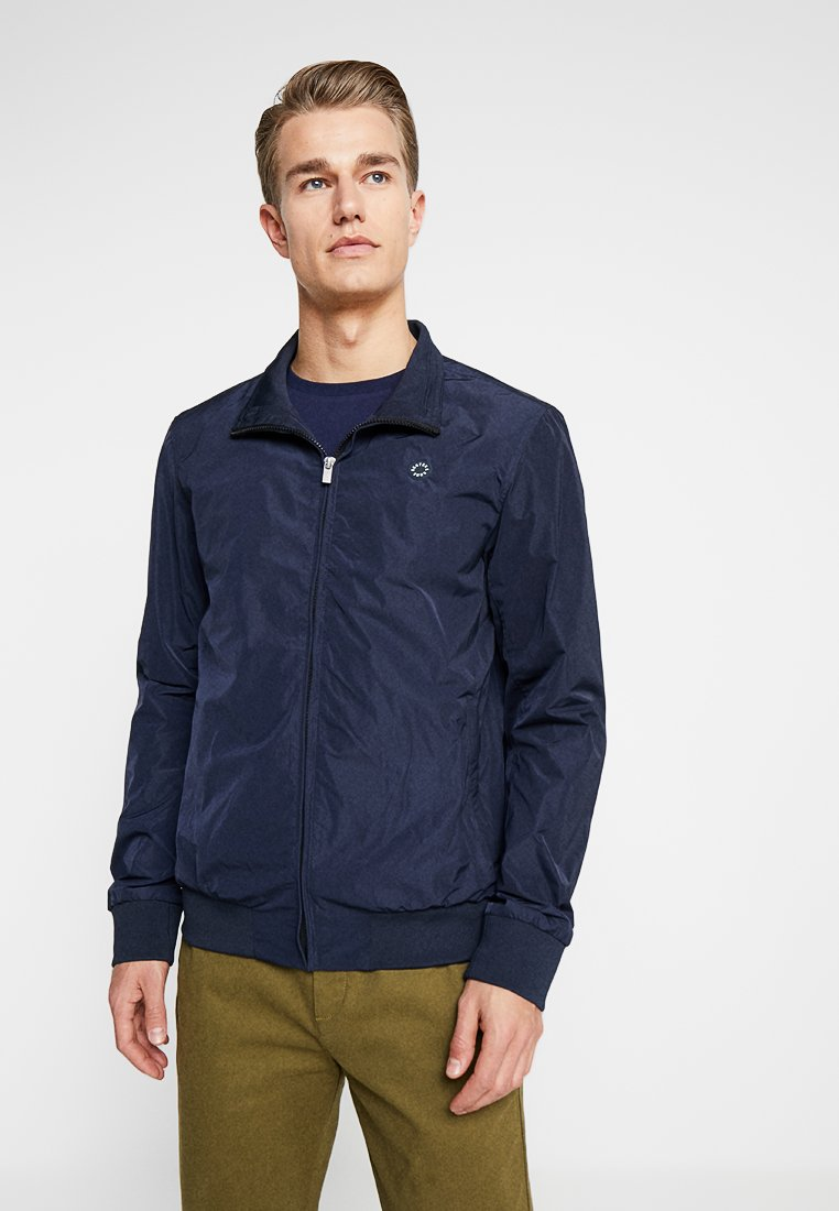 Scotch & Soda - AMS BLAUW HARRINGTON JACKET - Chaquetas bomber - navy