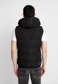 Scotch & Soda - CLASSIC HOODED QUILTED BODYWARMER - Chaleco - black - 2