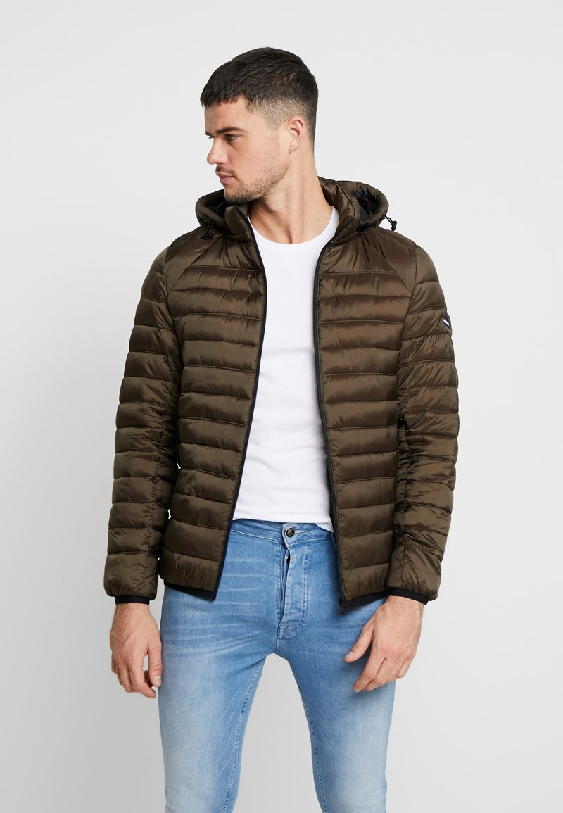 Scotch & Soda - CLASSIC HOODED LIGHT WEIGHT  - Jas - military