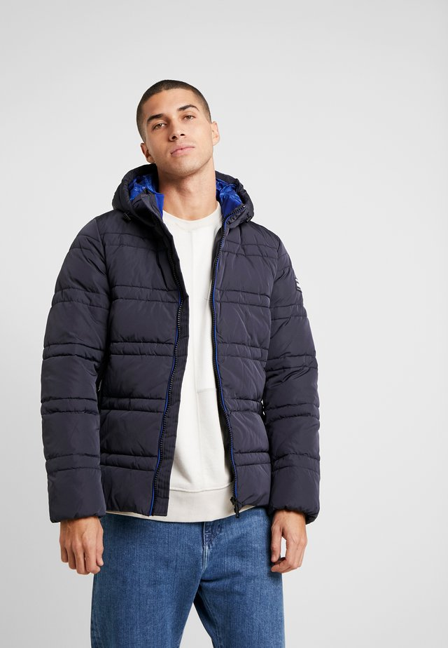 CLASSIC HOODED PRIMALOFT JACKET - Vinterjakke - night