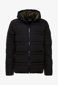 Scotch & Soda - CLASSIC HOODED PRIMALOFT JACKET - Vinterjacka - black - 5