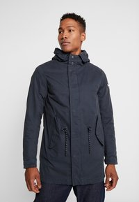 Scotch & Soda - CLASSIC HOODED - Parka - night - 0