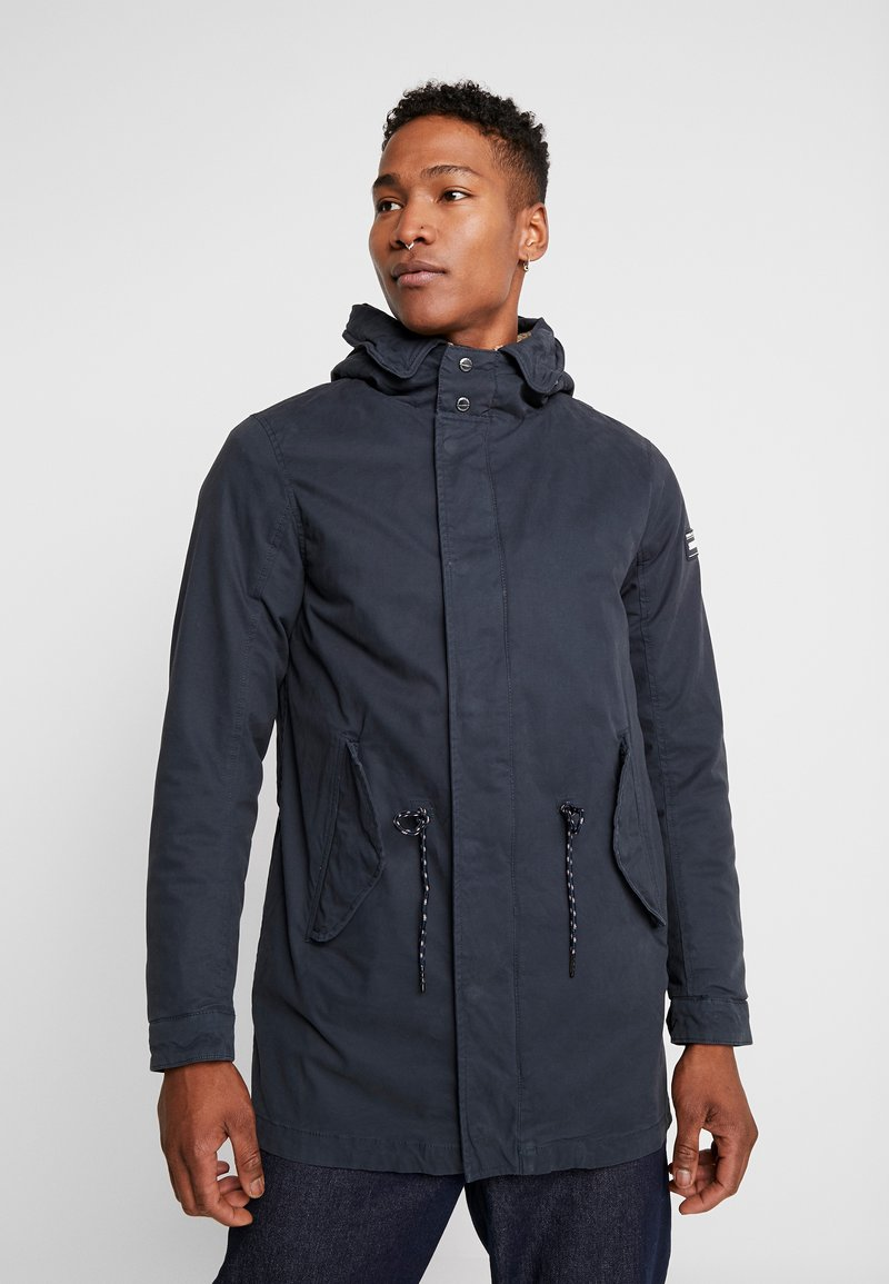 Scotch & Soda - CLASSIC HOODED - Parka - night