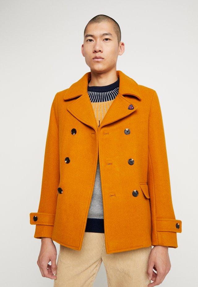 CLASSIC CABAN - Cappotto corto - noix