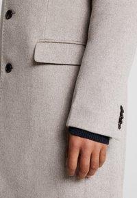 Scotch & Soda - CLASSIC SINGLE BREASTED COAT - Classic coat - sand melange - 3