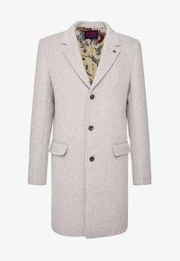 Scotch & Soda - CLASSIC SINGLE BREASTED COAT - Classic coat - sand melange - 4