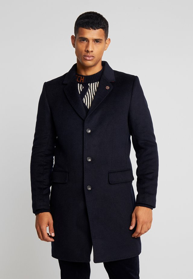 CLASSIC SINGLE BREASTED COAT - Mantel - midnight