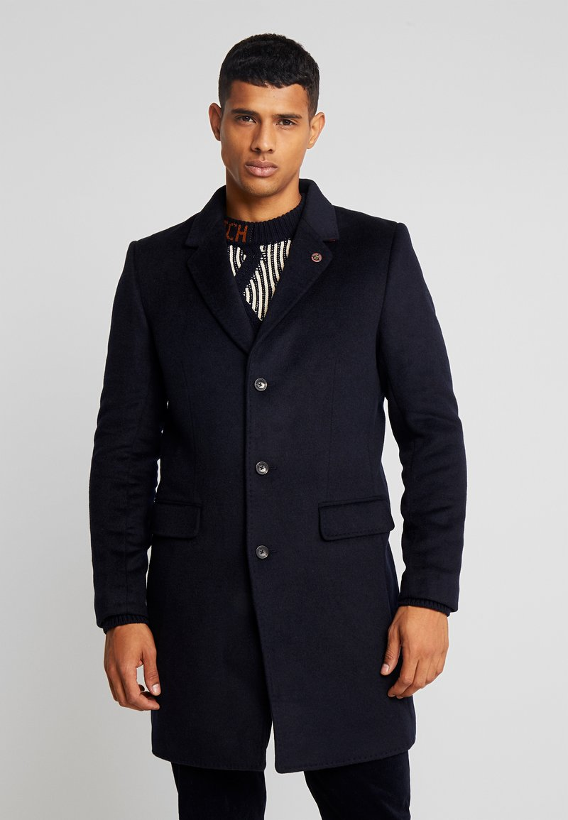 Scotch & Soda - CLASSIC SINGLE BREASTED COAT - Kåpe / frakk - midnight