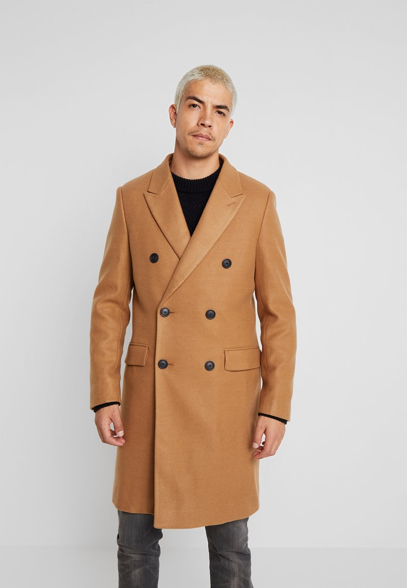 Scotch & Soda - DOUBLE BREASTED COAT - Mantel - sand