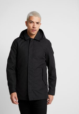 CLASSIC WITH INNER BODYWARMER - Zimní kabát - black