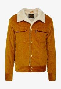 Scotch & Soda - TRUCKER JACKET WITH TEDDY - Light jacket - nutmeg - 3