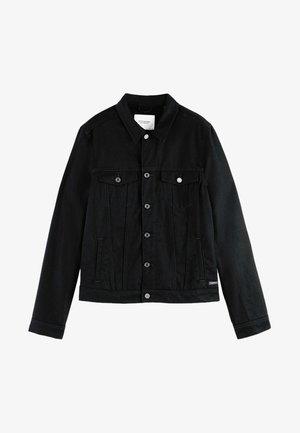 TRUCKER - Veste en jean - clean black