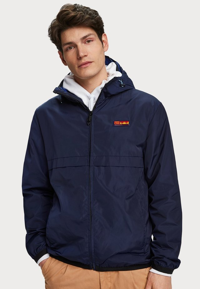 SCOTCH & SODA DOUBLE-HOOD JACKET - Korte jassen - navy