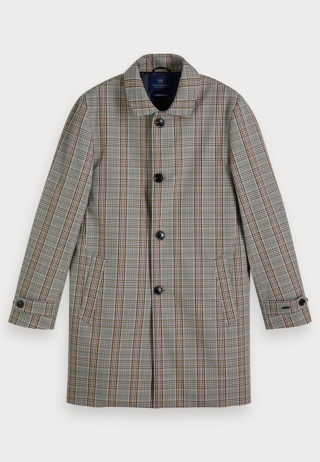 PLAID - Trenchcoat - grey