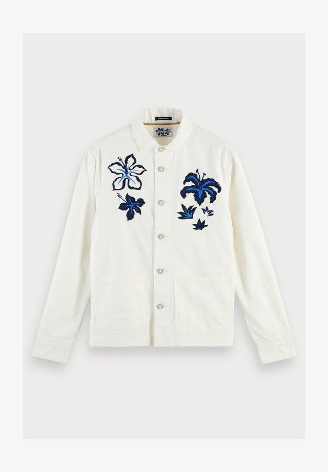 Embroidered - Jas - ecru