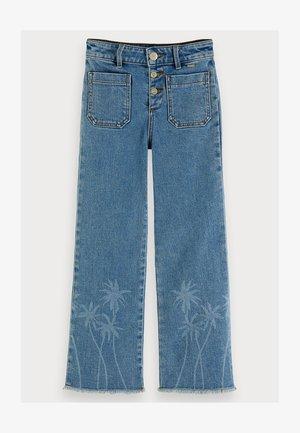 PALM TREE - Straight leg jeans - sky blue