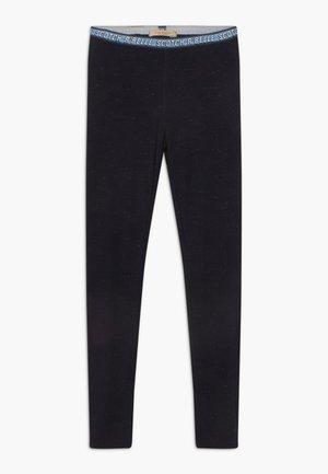 LUREX BRANDED WAISTBAND - Leggings - Trousers - night