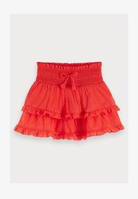 Scotch & Soda - Mini skirt - flame red - 0