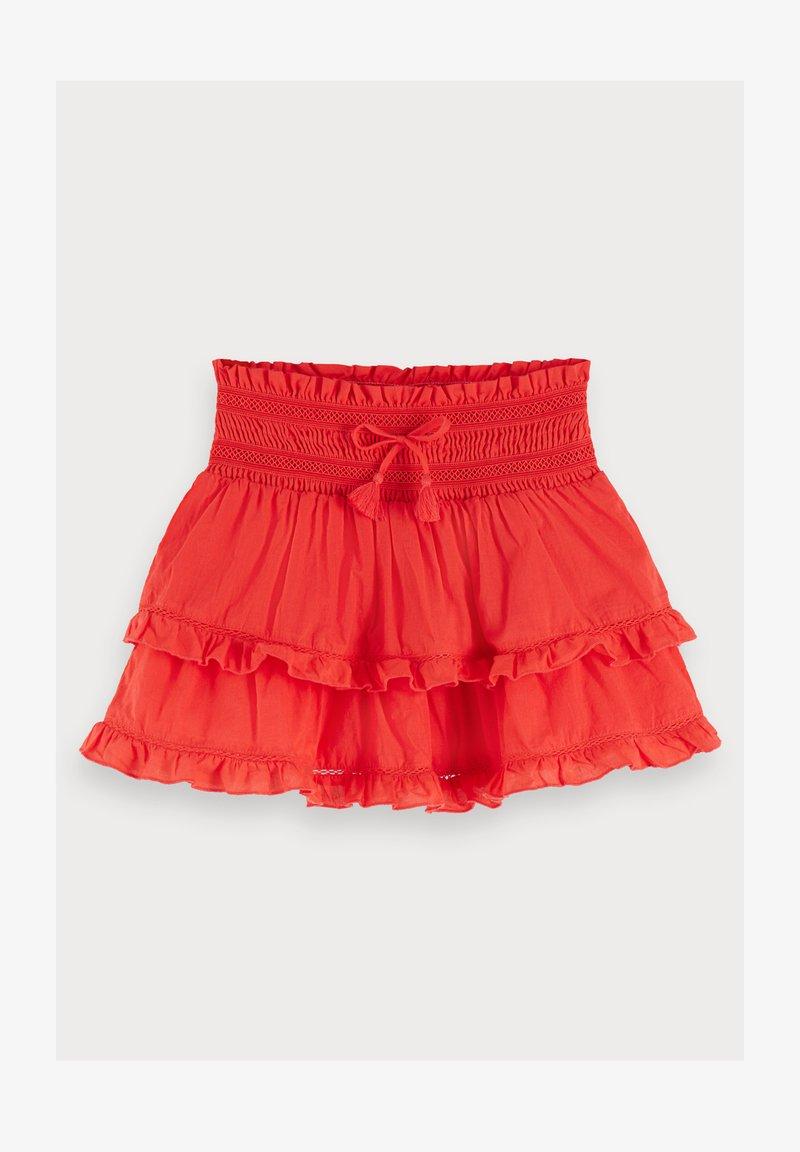 Scotch & Soda - Mini skirt - flame red
