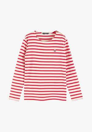 BRETON - Long sleeved top - red