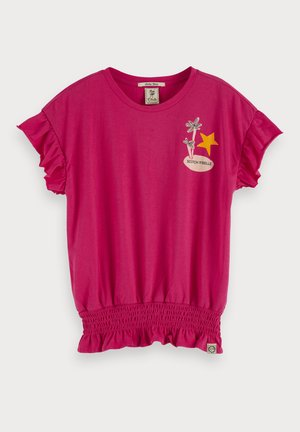 ISLAND ARTWORK  - T-shirt print - exotic pink