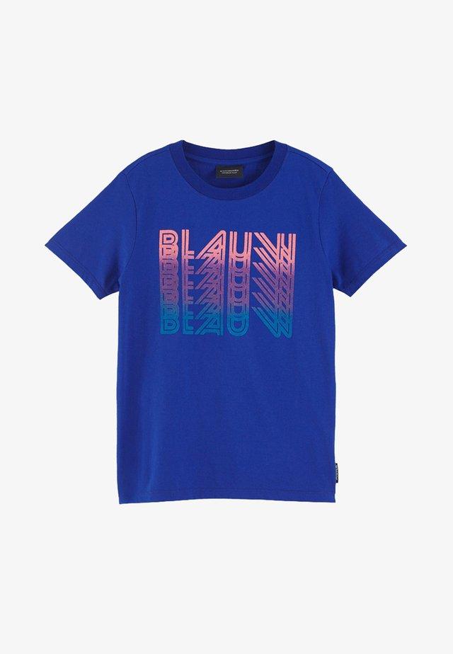 ARTWORK  - T-shirt print - true blue