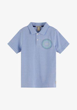 Polo shirt - sky blue