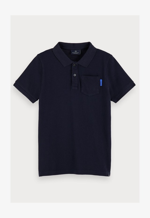 GARMENT DYED - Polo shirt - night