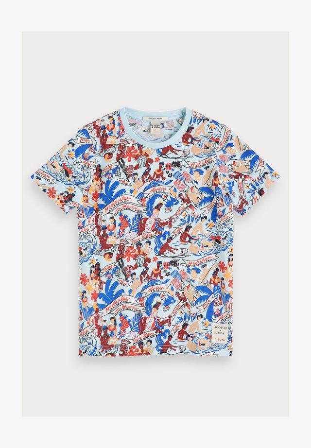 KEONI - T-shirt print - combo z